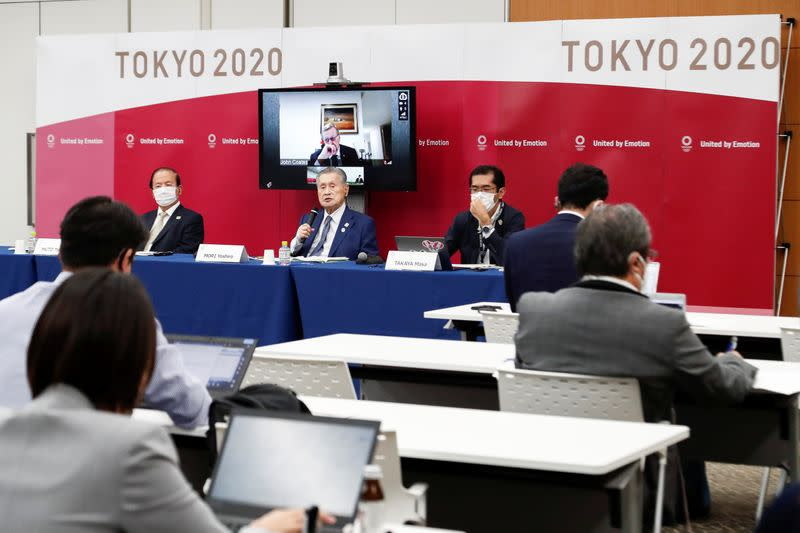 Olympics: Tokyo organisers outline steps for 'simplified' Games