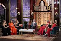 <p>Some are more planned than others. <em>The</em> <em>Real Housewives of Dallas</em> really nailed the black and red color scheme here, but usually, the theme is a little less obvious and the women wear what they're most comfortable in—as long as it's cocktail attire.</p>