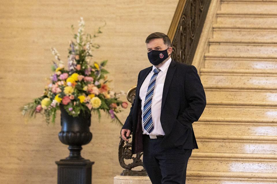 Northern Ireland Health Minister Robin Swann welcomed the recommendation from the JCVI (David Young/PA) (PA Wire)
