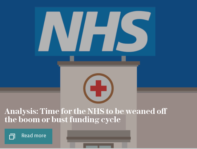 NHS crisis analysis