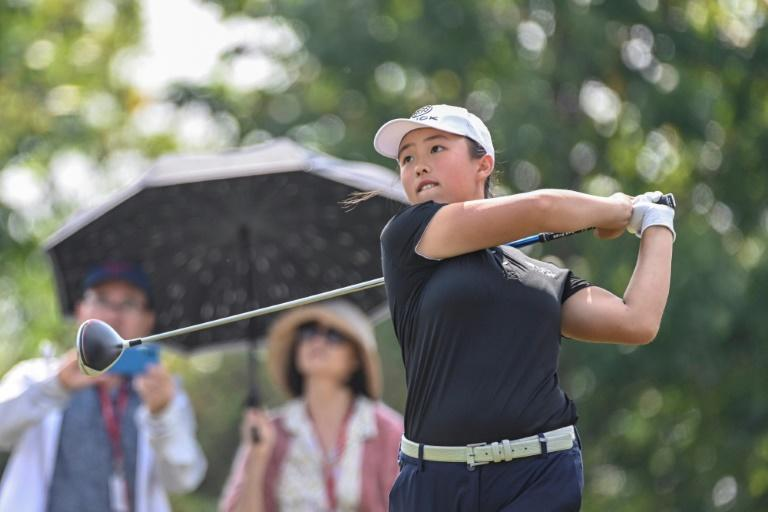 Chinese golfer, 17, dreams big after 'astonishing' start