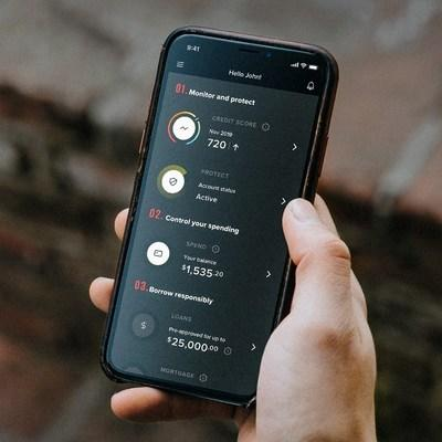 Mogo's newly designed mobile app helps Canadians master the four habits of financial health and get on top of their finances, all through a digital experience. (CNW Group/Mogo Finance Technology Inc)