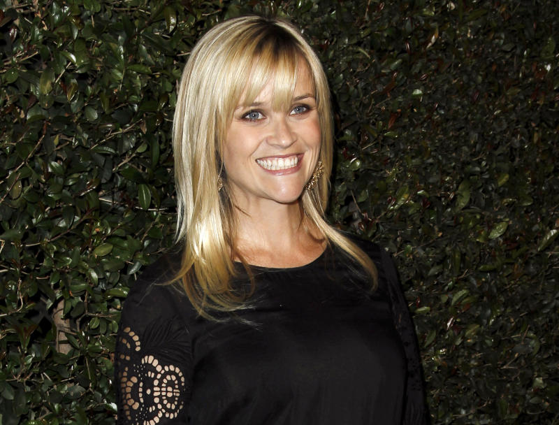 "FILE - In this April 13, 2012 file photo, actress Reese Witherspoon arrives at the world premiere of the music video for Paul McCartney's song, ""My Valentine.""  Witherspoon's mother has filed a petition of annulment to wipe out her husband's recent second marriage. Mary Elizabeth Witherspoon says in court documents filed May 8 in Nashville that her husband John Drake Witherspoon has taken a second wife who may be taking advantage of his mental condition. (AP Photo/Matt Sayles, file)"