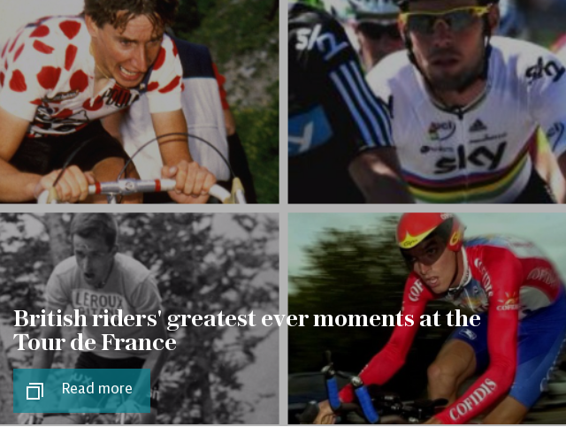 British riders' greatest ever moments at the Tour de France