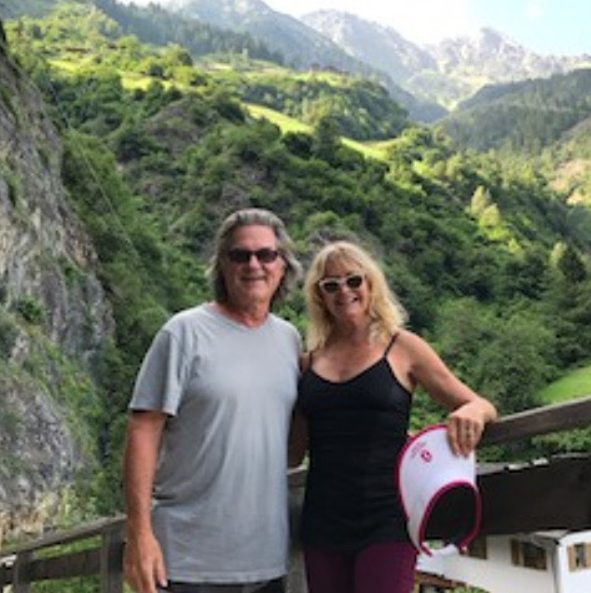 """<p>Reinforcing their #couplegoals status, Goldie Hawn and longtime partner Kurt Russell are off hitting the trails together and indulging in a drink or two. """"Nothing better! Hiking in the alps with Pa! """" she wrote. """"And one little home made raspberry schnapps on the way."""" (Photo: <a rel=""""nofollow noopener"""" href=""""https://www.instagram.com/p/BWUohCyD3Zs/?taken-by=officialgoldiehawn"""" target=""""_blank"""" data-ylk=""""slk:Goldie Hawn via Instagram"""" class=""""link rapid-noclick-resp"""">Goldie Hawn via Instagram</a>) </p>"""