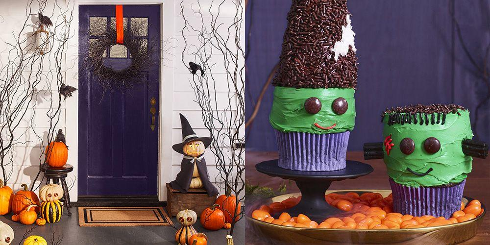 """<p>Planning a <a href=""""https://www.womansday.com/halloween/"""" target=""""_blank"""">Halloween</a> party can be pretty expensive when you combine the costs of <a href=""""https://www.womansday.com/home/decorating/g1279/easy-halloween-decorations/"""" target=""""_blank"""">Halloween decorations</a>, <a href=""""https://www.womansday.com/home/crafts-projects/g950/funny-pumpkin-carving-ideas/"""" target=""""_blank"""">pumpkins for carving</a>, a delicious <a href=""""https://www.womansday.com/food-recipes/food-drinks/g2497/halloween-party-food/"""" target=""""_blank"""">party menu</a>, and <a href=""""https://www.womansday.com/life/g1898/family-halloween-costumes/"""" target=""""_blank"""">costumes for the whole family</a>. So why not give your pocket and credit cards a break from spending too much money with these DIY Halloween party ideas? Not only are these Halloween party ideas cheaper than splurging at Party City, but they are super easy to put together. </p><p>Hosting a costume party for friends and family? We got you covered. Spending the night in and need some ideas to keep the kids entertained? We thought of that too. These Halloween party ideas can come to fruition with just a few materials that you can find at home or in craft stores. And they include everything from <a href=""""https://www.womansday.com/home/crafts-projects/how-to/g309/9-devilishly-fun-decorating-projects-110896/"""" target=""""_blank"""">DIY decorations</a> for your home and yummy, easy-to-make recipes to <a href=""""https://www.womansday.com/life/g28167211/cheap-halloween-costumes/"""" target=""""_blank"""">costume ideas</a> and <a href=""""https://www.womansday.com/life/g28153252/halloween-games/"""" target=""""_blank"""">fun games</a> to keep your guests entertained.<br></p>"""
