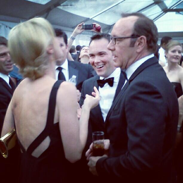 Julie Bowen and Kevin Spacey. #whcd