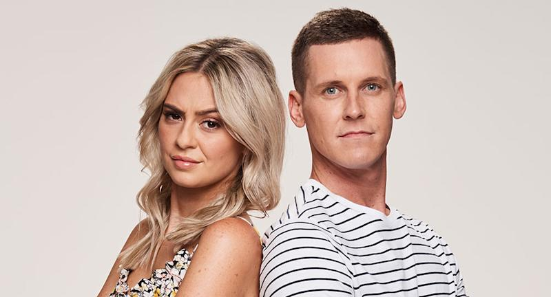 The Block couple Tess and Luke have blasted the renovation show. Photo: Channel Nine