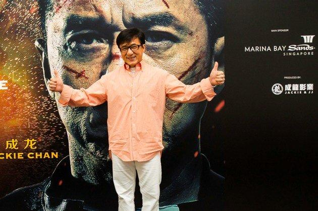 Jackie Chan says he has OCD and ADD. (Photo by MBS)