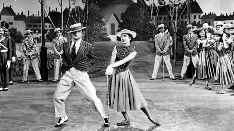 """Gene Kelly and Leslie Caron in the 1951 film """"An American in Paris,"""" which won the best picture Oscar."""