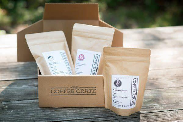 Starts at $30/month. Every Coffee Crate includes three 4-oz. bags of whole-bean coffee from North Carolina, plus an edible treat to enjoy with your coffee. Get <span>20% off with code <strong>BLACKCOFFEEBLACKFRIDAY</strong></span>.