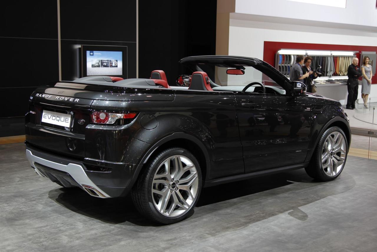 range rover evoque convertible concept. Black Bedroom Furniture Sets. Home Design Ideas