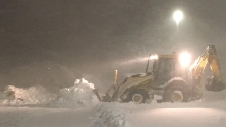 Record snowfall in P.E.I. blizzard
