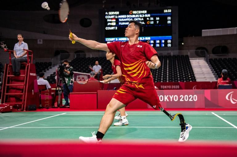 The Badminton World Federation says the sport is played in more than 80 countries across five continents (AFP/Philip FONG)