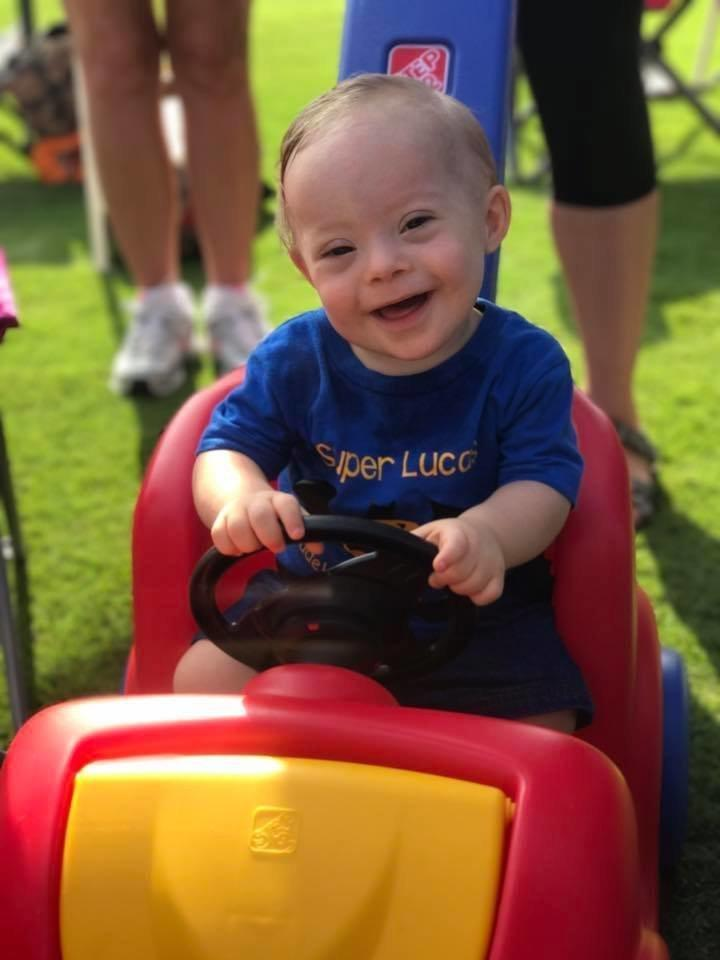 """Lucas' winning smile and joyful expression won our hearts this year,"" said Gerber CEO and President Bill Partyka. (Courtesy of Gerber)"