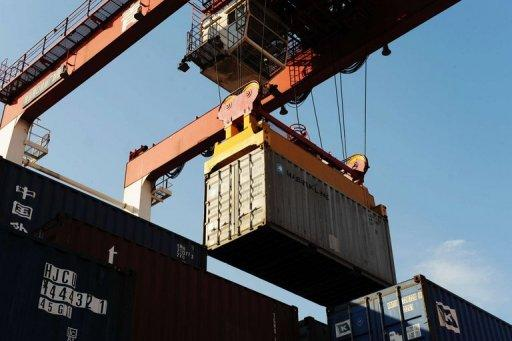 New export orders fell at the fastest rate in 42 months, HSBC said