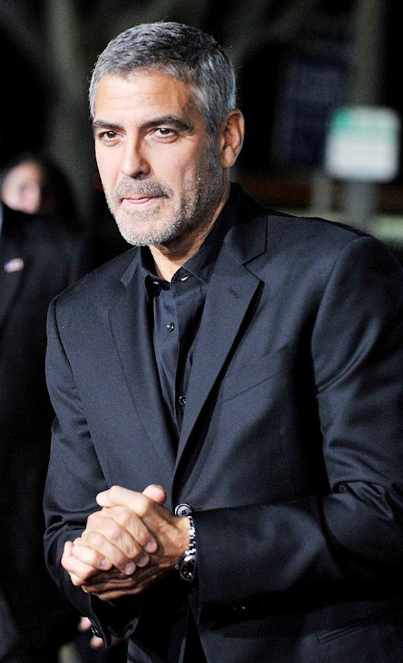 """<i>Star</i> magazine reports George Clooney is so stingy about his booze that he """"has his decanters marked so he can see exactly how much is in them,"""" and would notice if his employees stole even a sip. Click on to <a href=""""http://www.gossipcop.com/george-clooney-booze-decanter-housekeeper/"""" target=""""new"""">Gossip Cop</a> to see what those close to the Oscar winner have to say about the story. Jon Kopaloff/<a href=""""http://www.filmmagic.com/"""" target=""""new"""">FilmMagic.com</a> - November 30, 2009"""