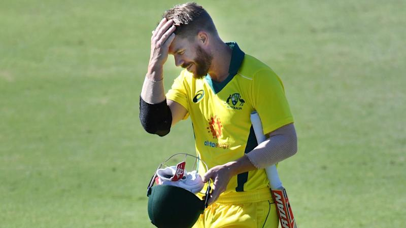 David Warner will bat at three for Australia in the warm-up against the West Indies