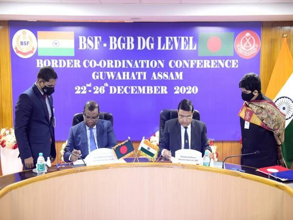BSF, BGB Director Level Border Co-ordination conference was held in Guwahati from December 22.