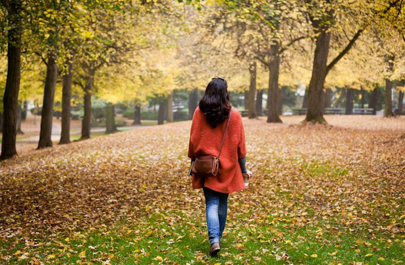 Getting outside for a walk can give your immune system a boost [Photo: Getty]