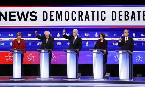 Bernie Sanders faces onslaught from rivals in chaotic South Carolina debate