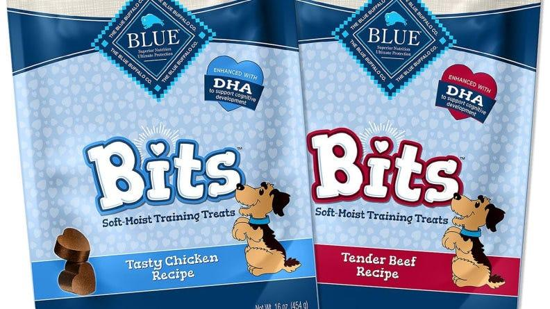 These soft treats have a smell that dogs love.