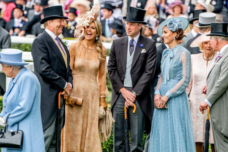 The Duke and Duchess of Cambridge at 2019 Royal Ascot (Getty)