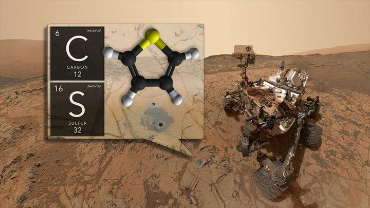 ancient organic molecules in Gale Crater