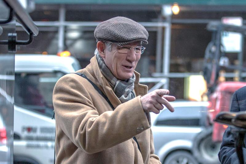 Gere in his most recent film, 'Norman' (credit: Sony)