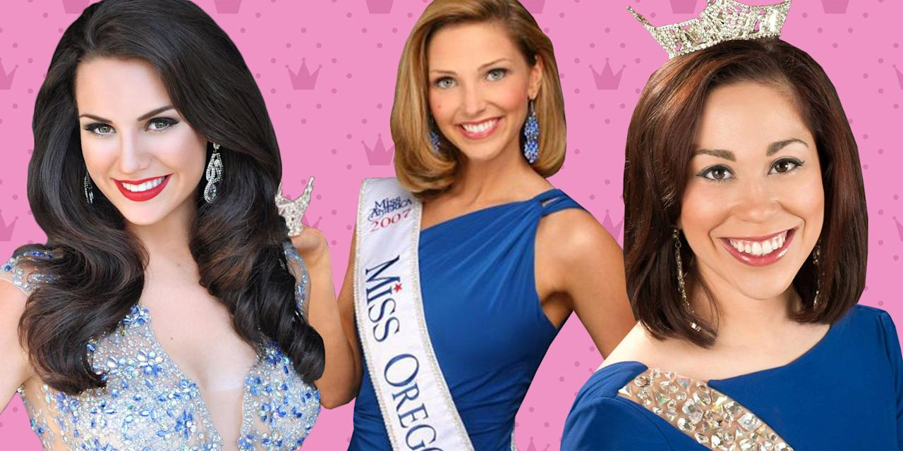 """<p>Beauty pageants: they are where Halle Berry, Michelle Pfeiffer, Diane Sawyer, and even Justin Timberlake (yes, really) <a href=""""https://www.goodhousekeeping.com/beauty/g2545/famous-beauty-pageant-contestants/"""" target=""""_blank"""">all got their starts</a>. The pageant circuit is also famously where our favorite <a href=""""https://www.amazon.com/gp/video/detail/B07FPQ8LXH/?creativeASIN=B07FPQ8LXH&linkCode=w61&imprToken=oQ2Wh0rNZUnP2ZBMZHXlog&slotNum=19&tag=goodhousekeeping_auto-append-20&ascsubtag=[artid 10055.a.27437562[src [ch [lt """" target=""""_blank"""">Bachelorette</a> and <a href=""""https://www.goodhousekeeping.com/life/entertainment/a27892421/dancing-with-the-stars-2019-season-28-cast-start-date/"""" target=""""_blank"""">Dancing With the Stars</a> contest <a href=""""https://www.goodhousekeeping.com/life/entertainment/a27437562/bachelorette-hannah-b-job-money/"""" target=""""_blank"""">Hannah Brown</a> started out. And, of course, it's also where <a href=""""https://www.amazon.com/Miss-Congeniality-Sandra-Bullock/dp/B008PZZTZI/ref=sr_1_1?keywords=Miss+Congeniality&qid=1572895412&sr=8-1"""" target=""""_blank"""">FBI agent Gracie Hart went undercover</a> to prevent a terrorist attack. These beauty pageants have<a href=""""https://www.goodhousekeeping.com/beauty/fashion/g22759536/miss-america-the-year-you-were-born/"""" target=""""_blank""""> certainly changed a lot over the years</a>. Just look at the Miss. America pageant. The organization is doing away with the infamous <a href=""""https://www.harpersbazaar.com/celebrity/latest/a21081548/miss-america-no-swimsuit-competition/"""" target=""""_blank"""">swimsuit portion</a> after years of criticism. <br><br> As things continue to change, one thing is for certain, these pageants aren't easy. Yet under bright stage lights and high definition cameras, these ladies always look amazing. Well, there's a reason for that. After years on the circuit, these pageant queens pick up a beauty secret or two. Luckily for us, some current and former pageant queens have been kind enough spill their"""