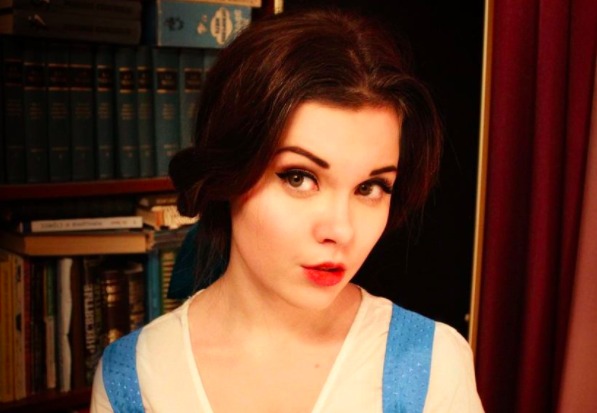 The 18-year-old can transform herself into any given character [Photo: Instagram]