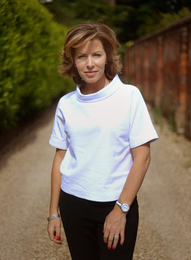 Natasha Kaplinsky has been injured in a boat fire