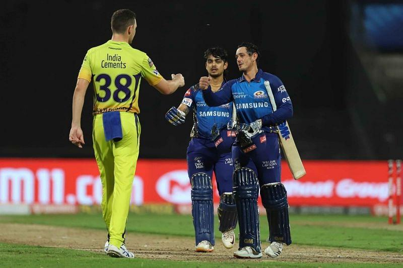 Ishan Kishan and Quinton de Kock smashed the CSK bowlers all around the park [P/C: iplt20.com]