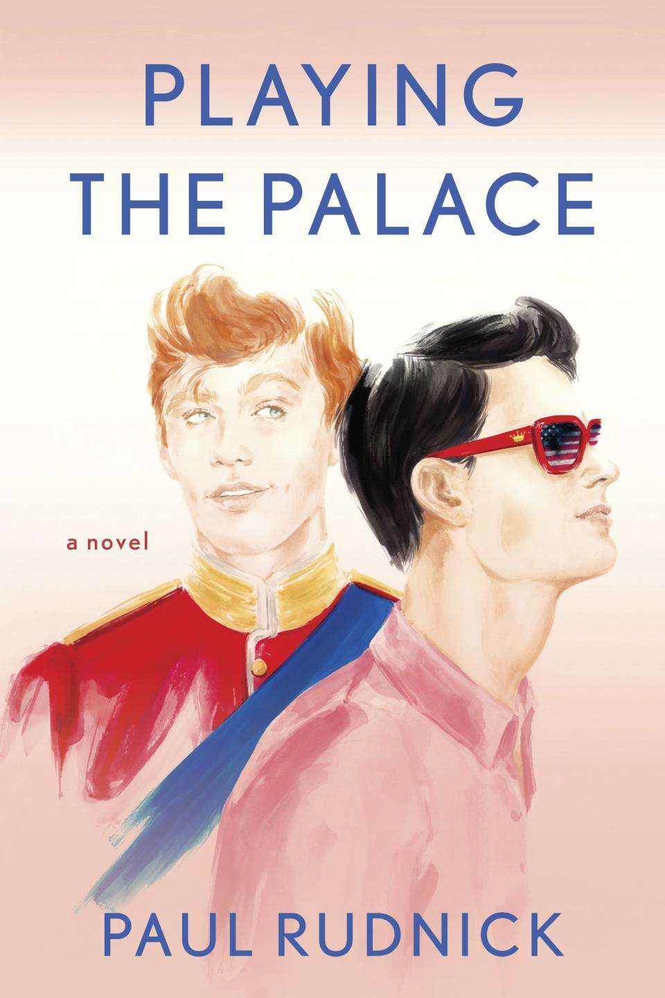 """This cover image released by Berkley shows """"Playing the Palace,"""" a novel by Paul Rudnick. (Berkley via AP)"""