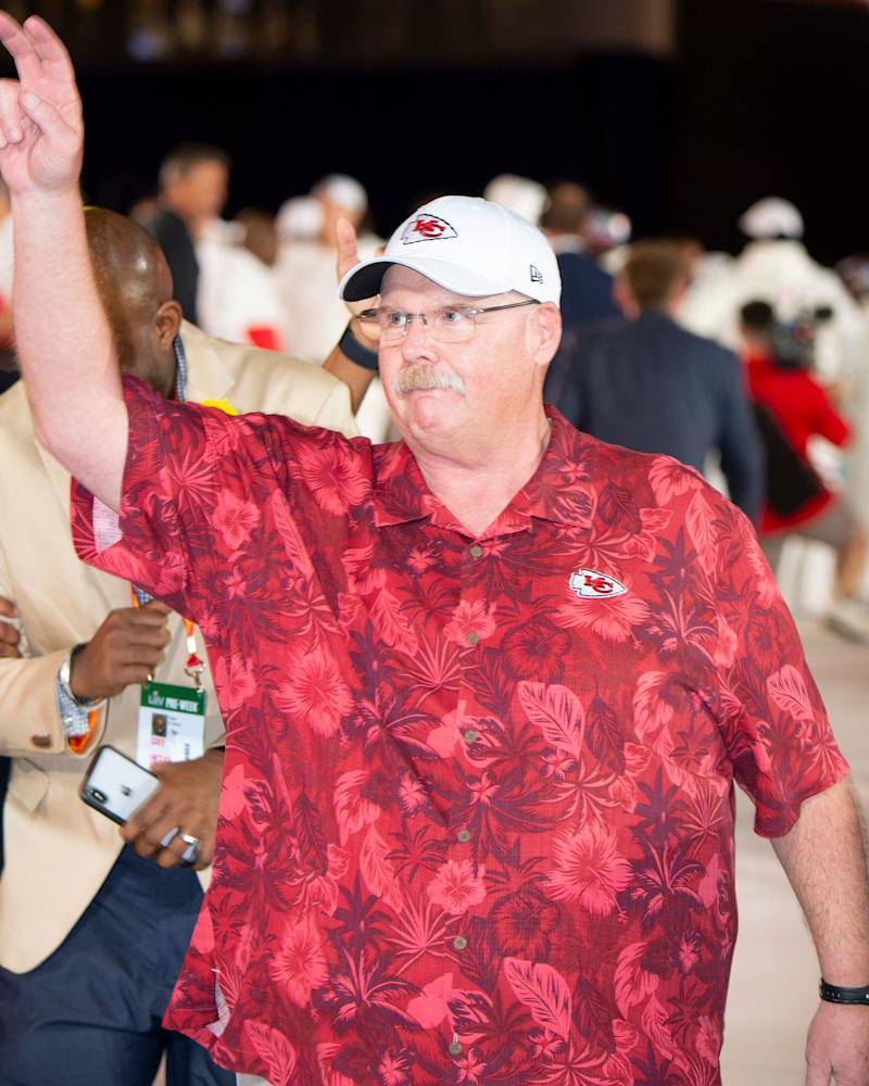 Everyone in Soho dresses like Andy Reid now.
