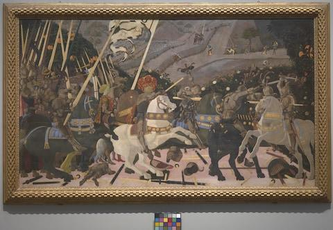 The Battle of San Romano, Paolo Uccello - Credit: The National Gallery, London