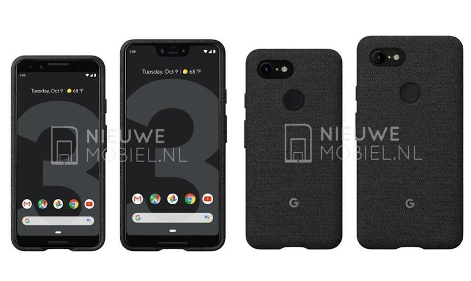 Could this be the Pixel 3 and Pixel 3 XL?