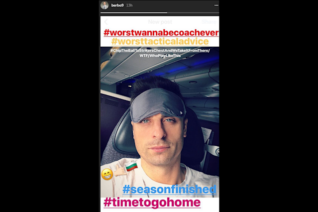Dimitar Berbatov slams David James as the 'worst wanna be coach ever' as former England goalkeeper takes over at Kerala Blasters