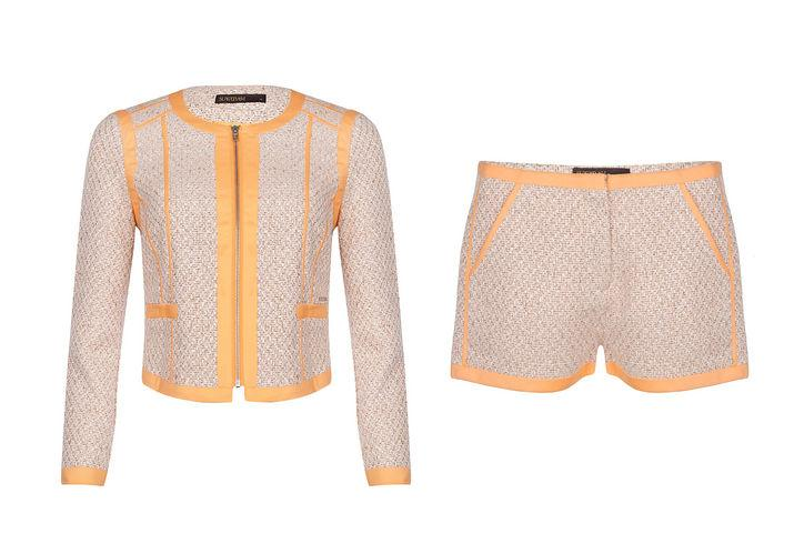 "<div class=""caption-credit""> Photo by: Courtesy of SuperTrash</div><div class=""caption-title""></div><p>   <b>Spring 2013 trend to try if you like your legs: the shorts suit</b> </p> <p>   <i>Juni jacket, $195, supertrash.com; Huppy shorts, $91, supertrash.com   <br>   <br></i> <b>More from Glamour</b> :   <br>   <a href=""http://www.glamour.com/beauty/2013/02/the-10-prettiest-hair-nail-and-makeup-looks-from-fall-2013-new-york-fashion-week?mbid=synd_yshine"" target=""_blank"">10 Beauty Tricks That Make Guys Melt</a>   <br>   <a href=""http://www.glamour.com/beauty/2013/02/27-hairstyles-to-try-this-month?mbid=synd_yshine"" target=""_blank"">27 Hairstyles to Consider This Month</a> <i><br></i> </p>"