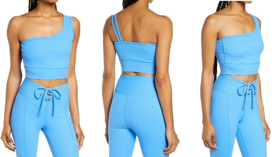 Year of Ours 54 Rib One-Shoulder Sports Bra - Nordstrom $41 (originally $68)