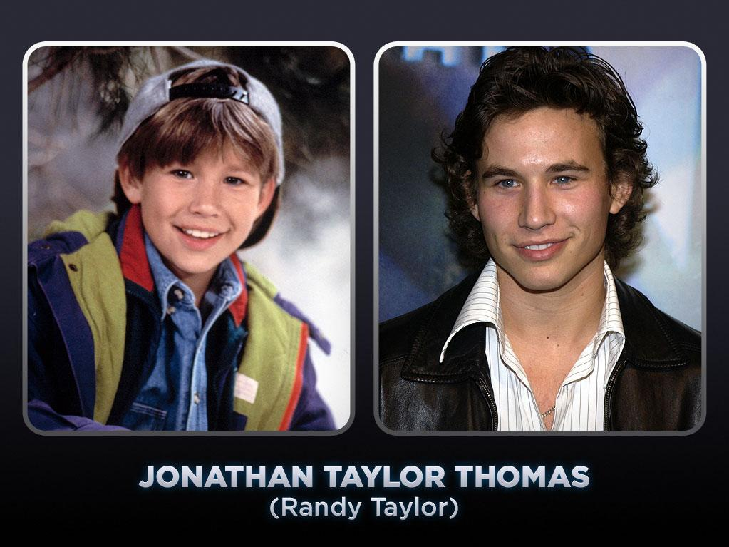 """Jonathan Taylor Thomas was living in Sacramento, California, when he started to book TV commercials for Mattel, Kellogg's, and Burger King. He and his family headed to Hollywood in search of bigger roles for Thomas. The year they arrived in Los Angeles, Thomas landed the role of Greg Brady's son, Kevin, in CBS's disastrous """"Brady Bunch"""" continuation series, """"The Bradys."""" Luckily for Thomas, the show ended and he soon won the role of Randy Taylor, Tim and Jill's middle son, on """"<a href=""""/home-improvement/show/97"""">Home Improvement</a>."""" Thomas was also able to film a number of movies between 1991 and 1999, most notably Disney's 1994 blockbuster """"The Lion King,"""" which featured the then-13-year-old as the voice of Young Simba. With the releases of  """"Man of the House"""" and """"Tom and Huck"""" in 1995, """"The Adventures of Pinocchio"""" in 1996, and  """"Wild America"""" in 1997, he found himself gracing the covers of every teen magazine. But as JTT mania swept the nation, Thomas started to withdraw from Hollywood. He wanted to experience life away from a sound stage and -- to the shock of many -- he left """"Home Improvement"""" at the start of the show's eighth and final season to pursue his education. In the years since, Thomas graduated from Columbia University and has appeared in a handful of shows, including """"Ally McBeal,"""" """"Smallville,"""" and """"8 Simple Rules."""" Thomas has recently stated that he'd like to get back into acting and possibly try his hand at directing."""