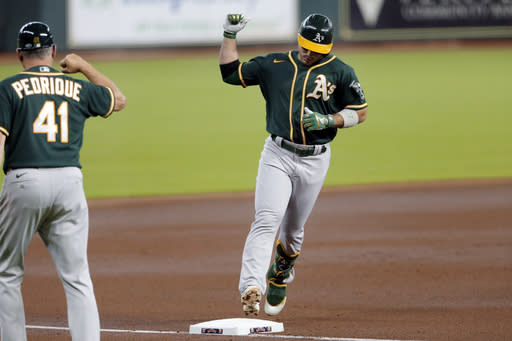 Third game of Oakland's series at Seattle postponed
