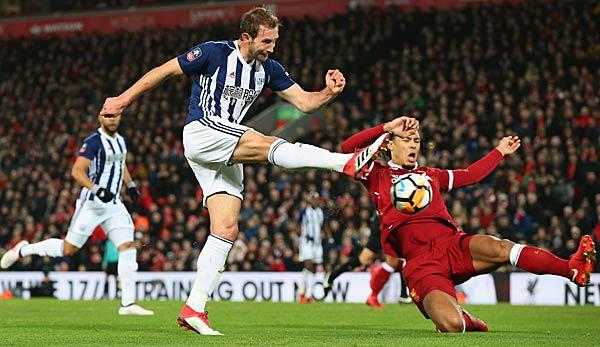 FA Cup: Liverpool fliegt in Anfield gegen West Brom raus