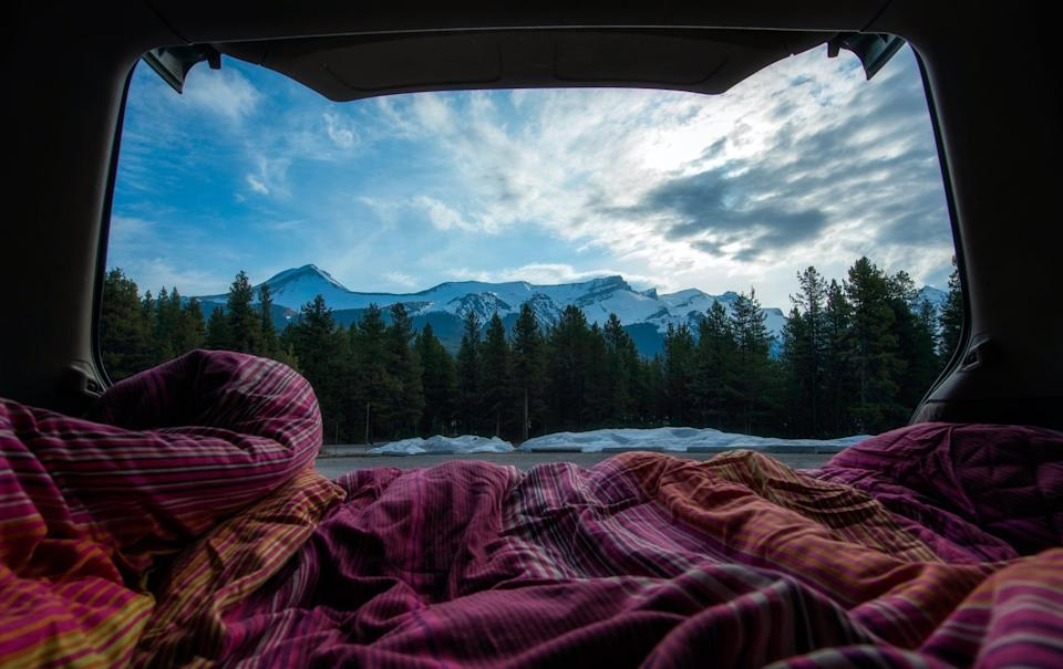 """<p>Driving has been the transportation method of choice for traveling since the pandemic started, so it's no surprise that there's been a significant uptick in camper van and RV rentals as a result. The rental company <span>Outdoorsy</span> has seen significant growth in bookings for this one-of-a-kind experience. It's perfect for travelers of all ages and families, is pet-friendly (sometimes), and allows for the ultimate outdoor exploration. """"One of the built-in benefits of RV travel is that it's socially distant by design - no matter where you choose to camp, you're always at least six feet away from other travelers,"""" Jen Young, Outdoorsy's cofounder and CMO, told POPSUGAR.</p> <p>""""Vanlife"""" has been on the rise already the past few years, so it makes sense that this all-in-one type of <a href=""""https://www.popsugar.com/smart-living/best-road-trips-in-the-us-47466099"""" class=""""link rapid-noclick-resp"""" rel=""""nofollow noopener"""" target=""""_blank"""" data-ylk=""""slk:road trip"""">road trip</a> has gained interest during this time of more self-contained travel. The most popular destinations have been in the South and the West this past year. """"We started to see an uptick in bookings, and at one point, we saw a 4,500 percent increase in bookings on our platform,"""" Jen shared. """"One interesting trend we've seen is the influx of first-time renters, and that trend has continued.""""</p>"""