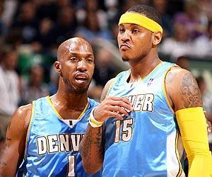 Chauncey Billups has asked Nuggets management to find a way to keep All-Star forward Carmelo Anthony