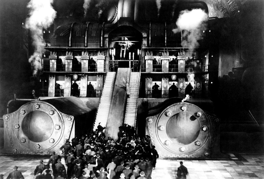 """<a href=""http://movies.yahoo.com/movie/metropolis/"">Metropolis</a>"" : ""In an era when films had to communicate purely with the visual, the relationship between the themes of the story and the architecture of the setting is clear and expressive."