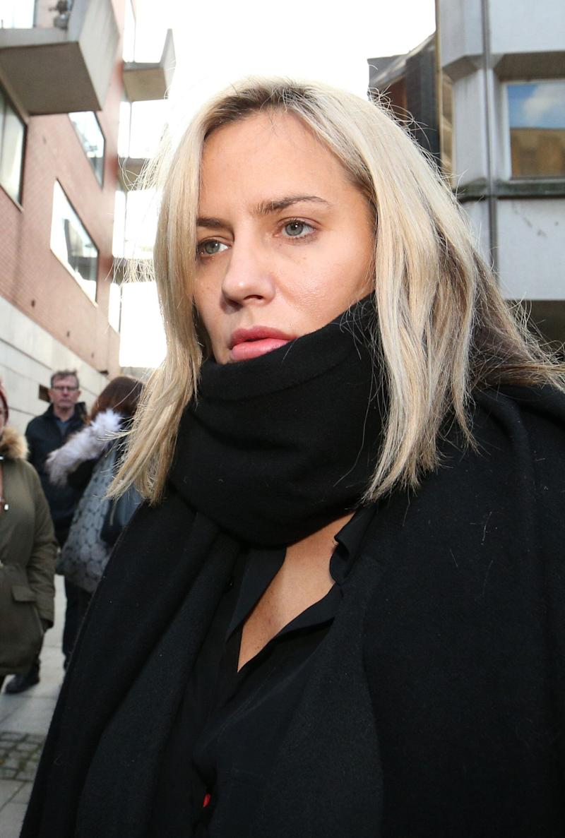 Caroline Flack has pleaded not guilty to assaulting boyfriend Lewis Burton (Photo: PA Wire/PA Images)