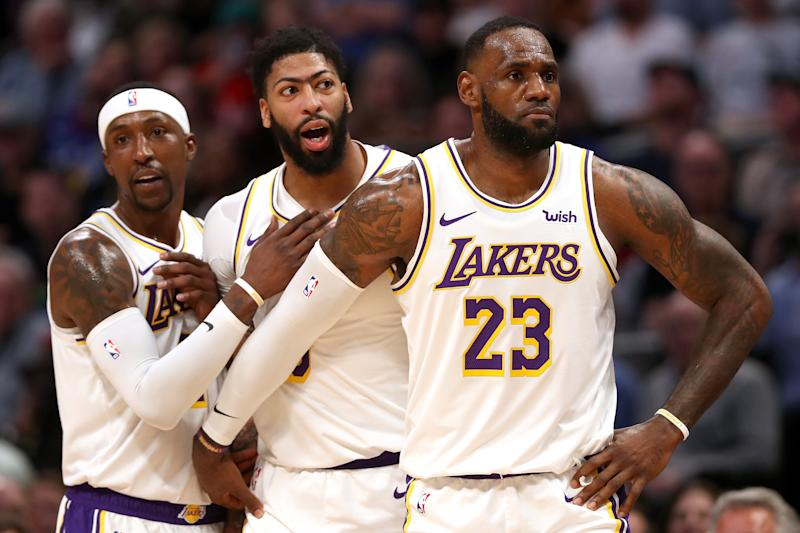 After facing criticism for a soft schedule, the Lakers scored a convincing road win against the No. 2 team in the West. (Matthew Stockman/Getty Images)