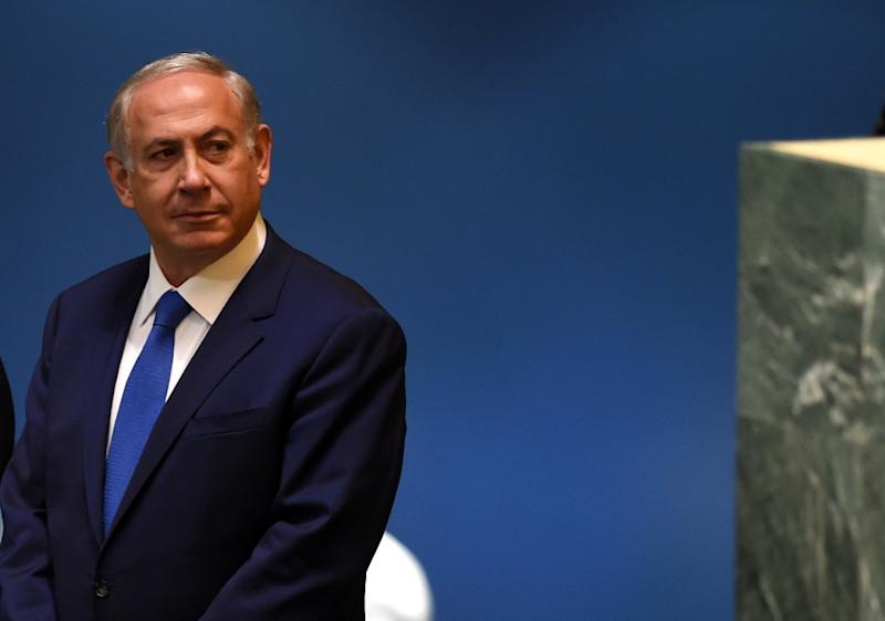 Benjamin Netanyahu, Prime Minister of Israel, whose government is one of the most right-wing in the country's history (AFP Photo/Timothy A. Clary)