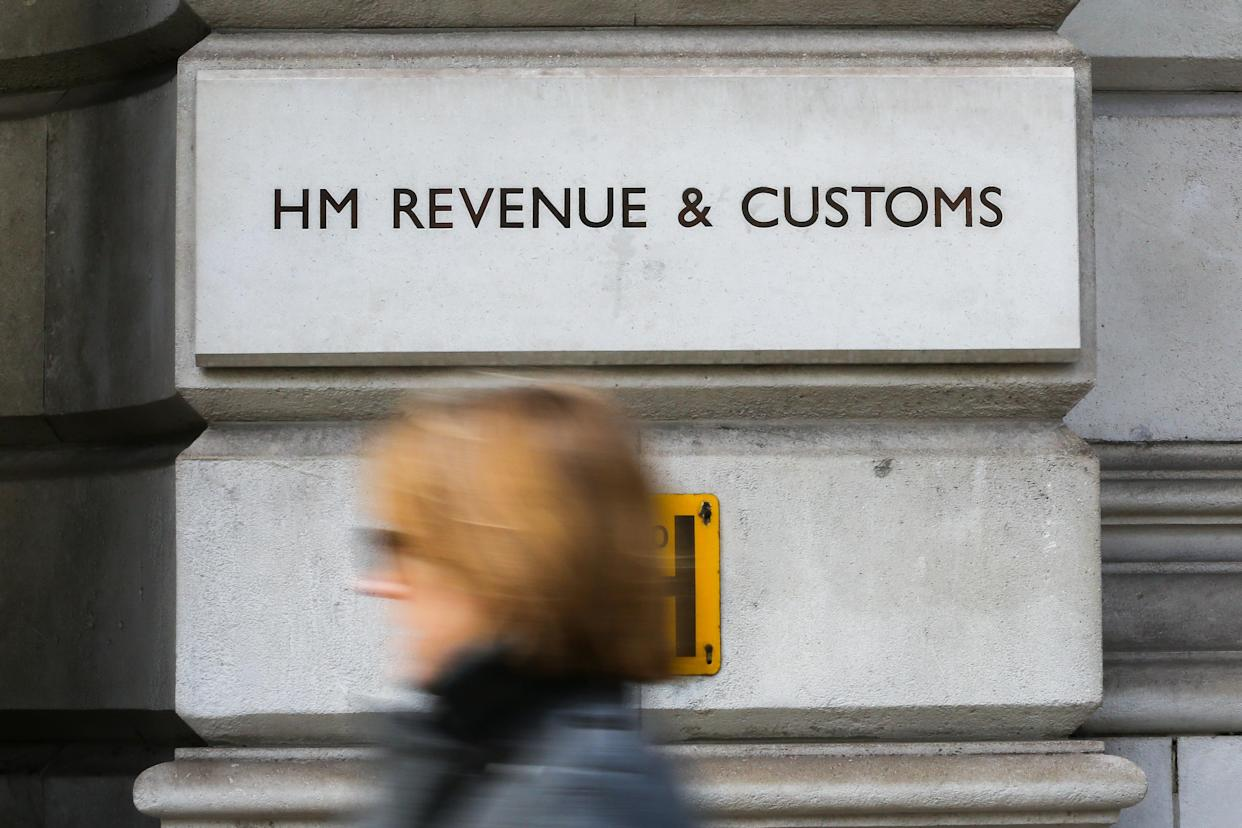 The HM Revenue & Customs building on Whitehall in London. Photo: Getty Images